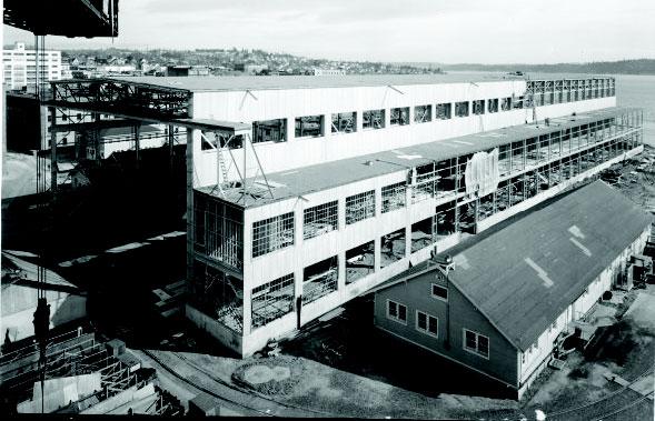 Puget Sound Naval Shipyard, Building 460 - Fiberlock